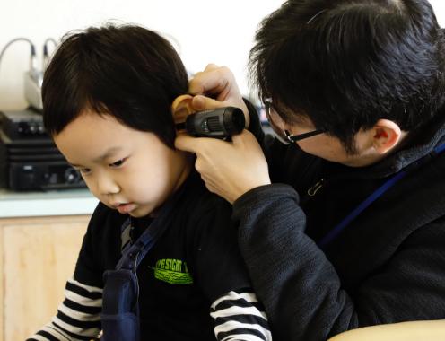 補聴器のフィッティング