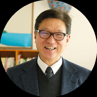ライシャワ・クレーマ学園 園長 佐々木勝先生